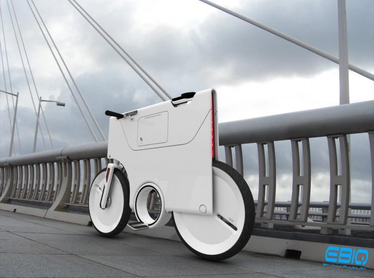 The EBIQ is a bike concept form the future