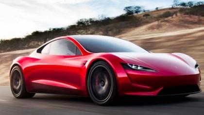 Tesla Fans to Get A Closer Look at Next-Gen Roadster on TV's Jay Leno's Garage
