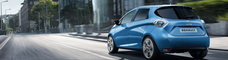 electric cars Renault Zoe
