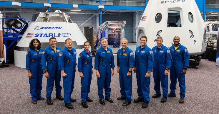 NASA Just Announced the First 9 Astronauts of SpaceX and Boeing's New Crew-carrying Missions