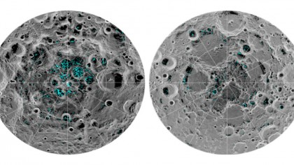 Water Ice on Moon's Poles Confirmed For The First Time