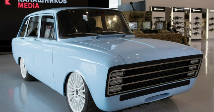 Russian Arms Manufacturer Unveils Electric Car Prototype to Rival Tesla