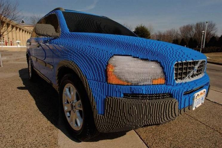 Legoland California Volvo Lego Car Full Size