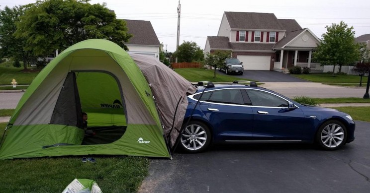 Elon Musk Says Tesla Models S, 3 and X Will Soon Have 'Party and Camper Mode'