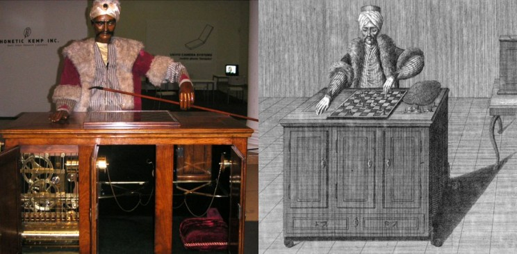The Turk: Wolfgang von Kempelen's Fake Automaton Chess Player
