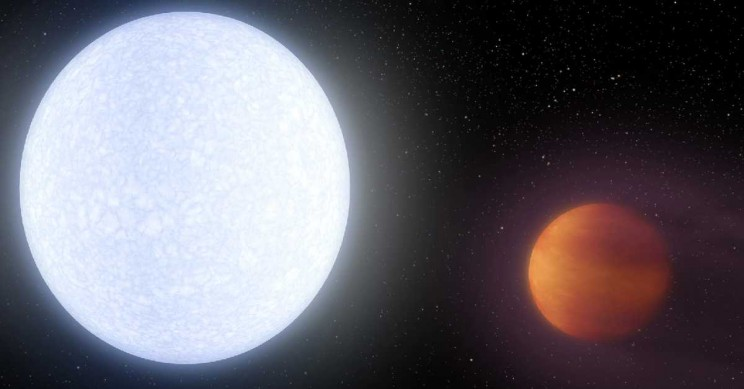 The Hottest of Ultrahot Exoplanets Literally Vaporizes Metals