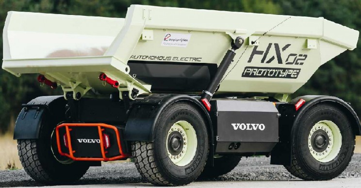Volvo CE Begins Testing of the First Emission-Free Quarry in the World