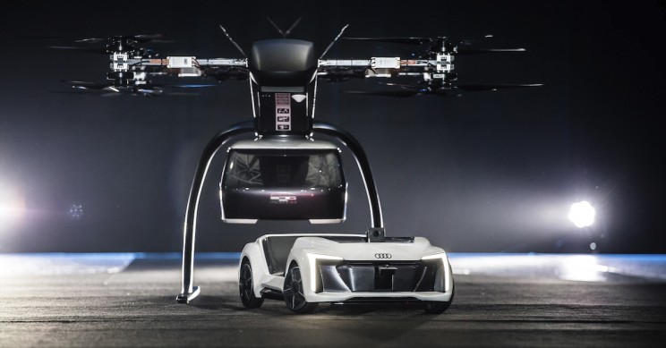 Audi and Airbus Displays Latest Flying Car Concept in Amsterdam