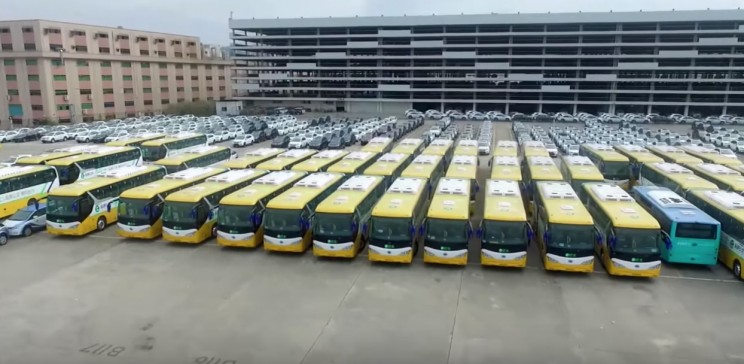 Shenzhen Shows off Its New Fleet of More Than 16,000 Electric Buses
