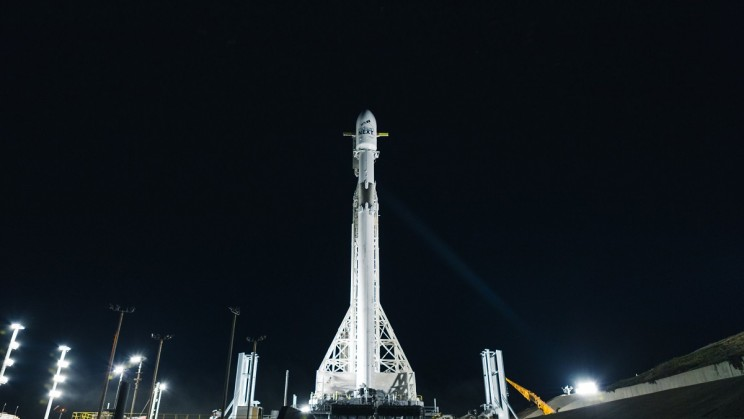 SpaceX Just Launched 10 Iridium Next Satellites into Earth's Orbit