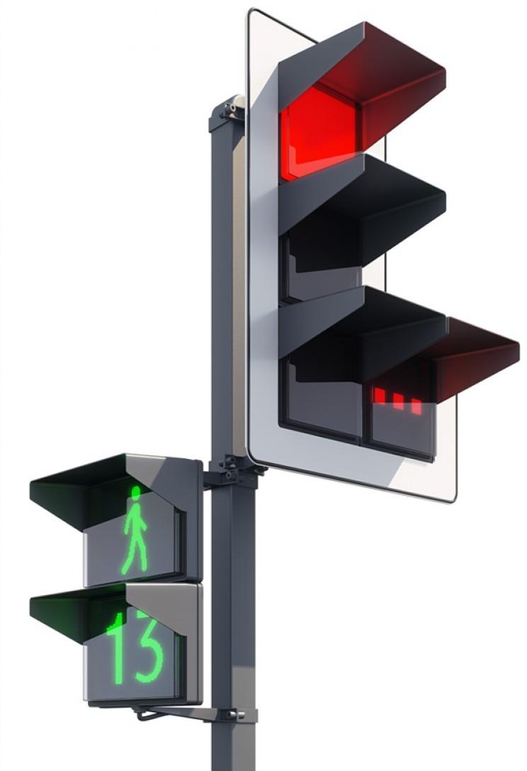 Futuristic Traffic Lights Luxofor