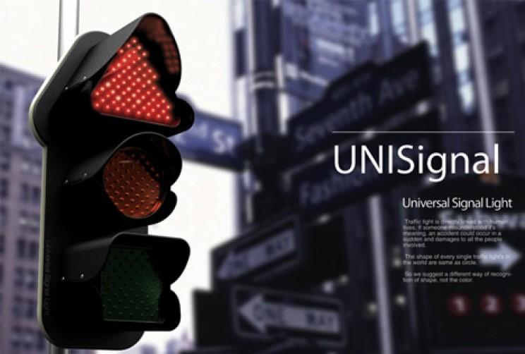 Futuristic Traffic Lights UniSignal