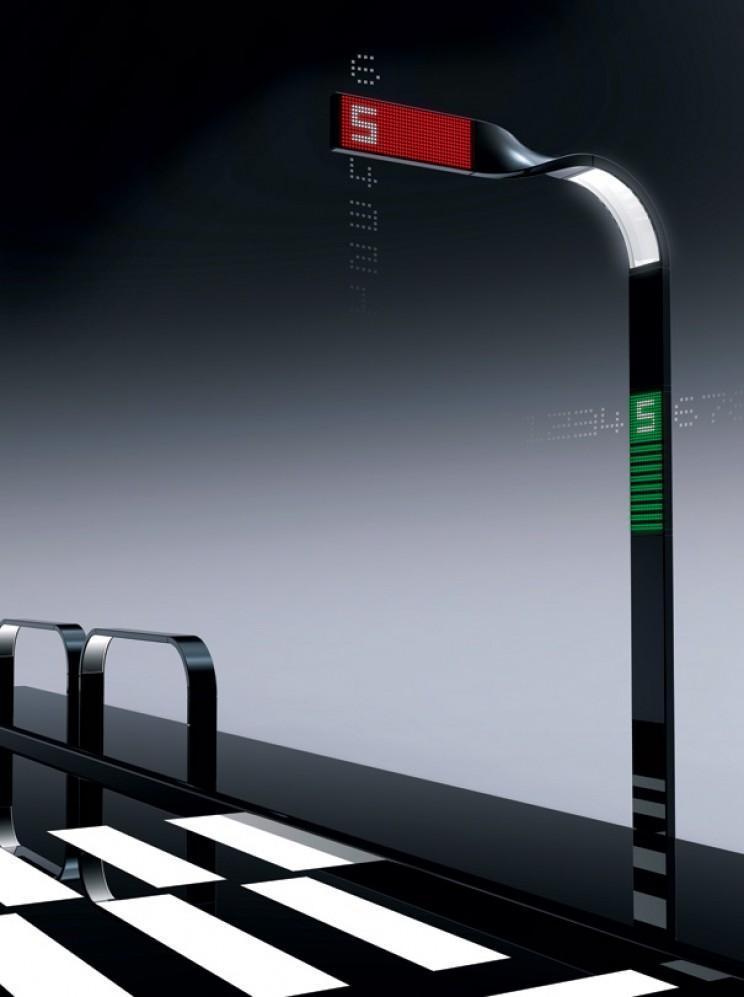Futuristic Traffic Lights mobius