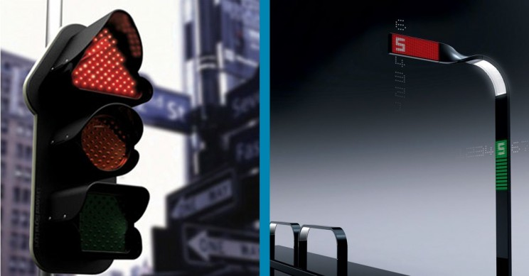 11 Futuristic Traffic Lights That Could Make Roads Safer