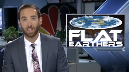 Frustrated Meteorologist Goes off on Flat Earth Movement on Air