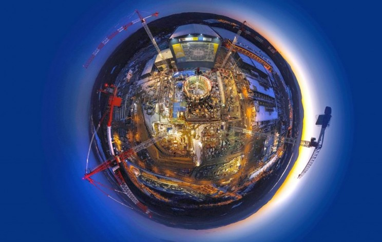 International Nuclear Fusion Facility Announces They're at a 'Halfway Point'