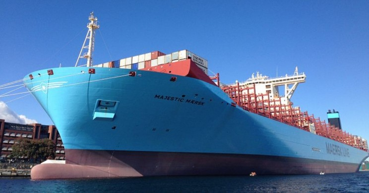 World's Largest Shipping Company Announces Zero-Carbon Emissions Goal by 2050