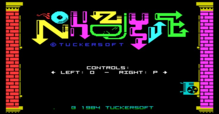 Nohzdyve Title Screen