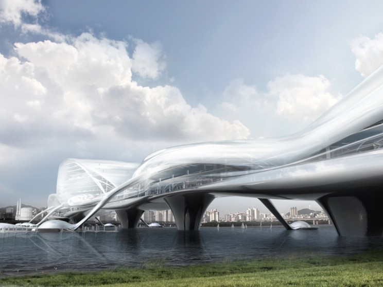 10 Extraordinary Neofuturistic Bridge Designs