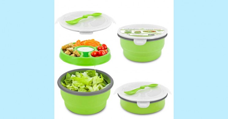 Travel Salad Bowl