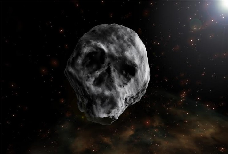 Skull-Shaped Halloween Asteroid Will Pass Earth Again in 2018