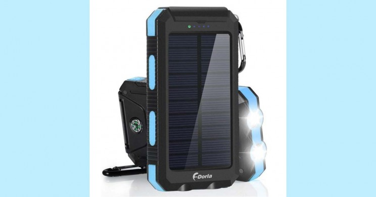 Solar-Power Bank