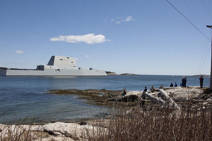 The U.S. Navy's Newest Stealth Destroyer Has Broken Down