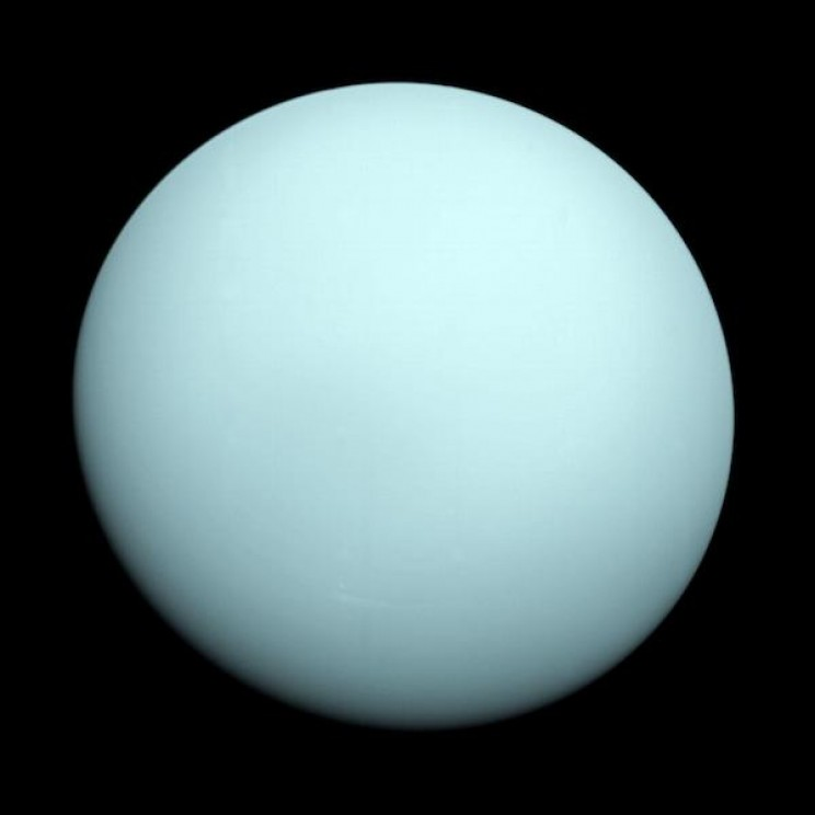 A Mysterious Object Twice the Size of Earth is What Caused Uranus' Lopsided Orbit