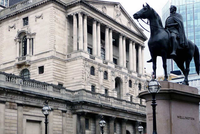 The Bank of England Could Implement an Official Cryptocurrency in 2018