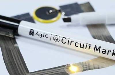 A Tokyo Startup Created a Pen with Conductive Ink that Allows You to Draw Your Own Circuits
