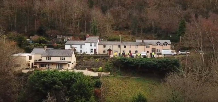 Drones Help Lay Internet Cable to Connect Remote Welsh Community
