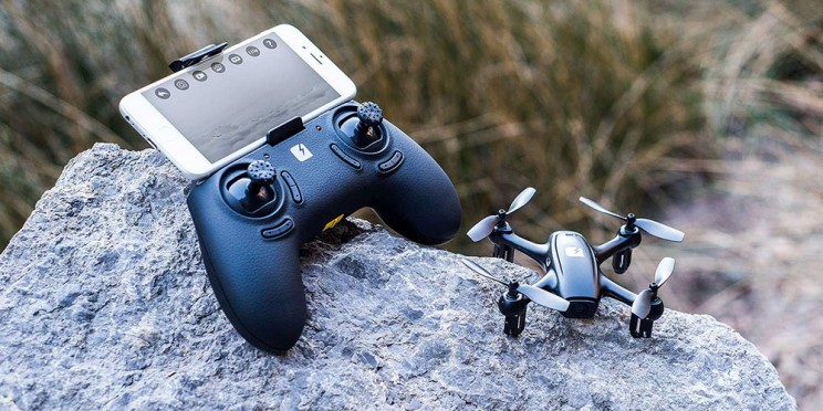 The Fader Stealth Mini-Drone Is A Blast To Fly