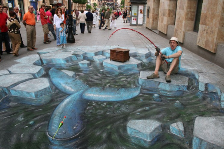 25+ Amazing Images of 3D Street Art
