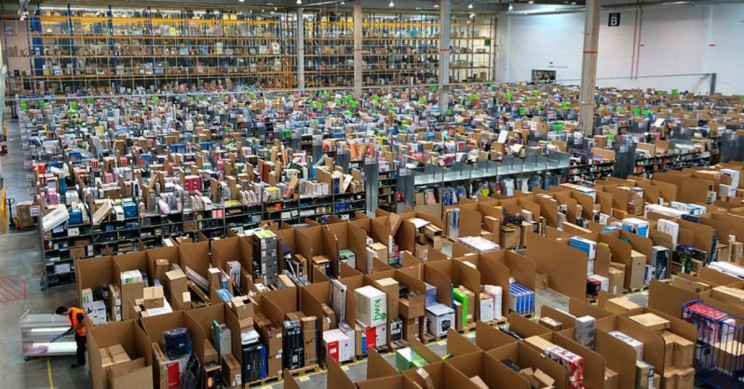 Amazon Workers Hospitalized After Robotic Arm Sprays Bear Repellent