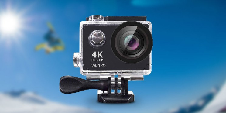 This 4K HD Action Cam Makes A Great Gift At Just $60