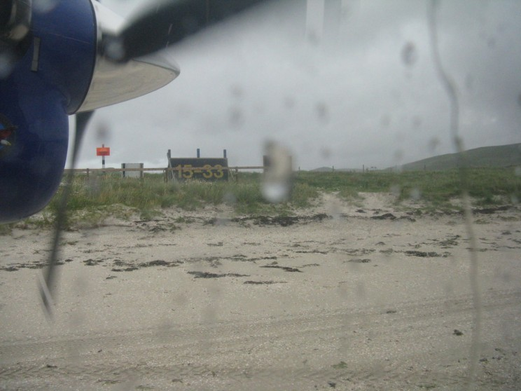 The World's Only Airport Where the Planes Land Right on the Sand