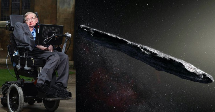Scientists Led by Stephen Hawking Believe Interstellar Object Visiting Us Could be Alien Spacecraft