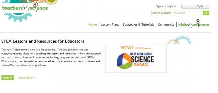 interactive science websites teacherstryscience