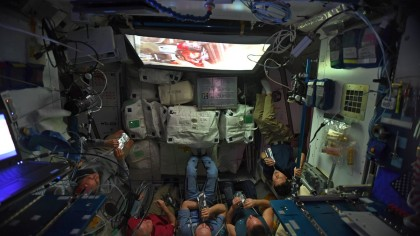 ISS Astronauts Just Watched the Latest Star Wars Film in Space