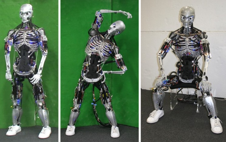 This Eerie Humanoid Robot Can Work Out Just Like a Human and Even Sweat