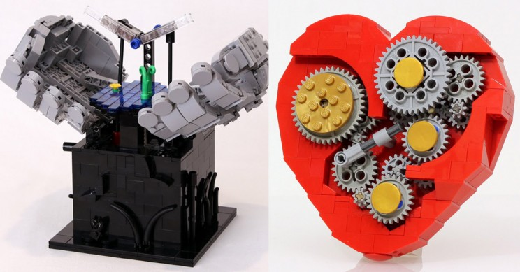 These 12 Kinetic LEGO Sculptures Will Inspire You