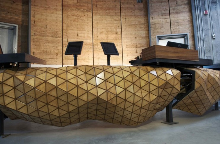 This Composite Wooden Material Behaves Just Like Fabric