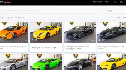 Bitcoin Millionaires Can Trade Their Cryptocurrency for a Lamborghini