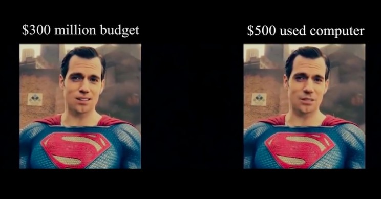 Free Software Beats Warner Bros. in Removing Henry Cavill's Mustache