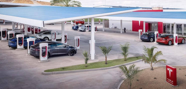 Tesla Expands Superchargers Network Through Europe