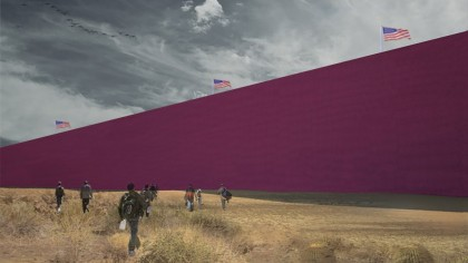 Mexican Design Firm Shows How Building Trump's Border Wall Could Take 16 Years