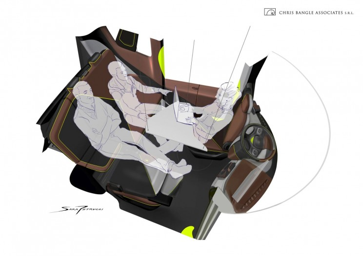New Autonomous Vehicle Allows You to Comfortably Work While Traveling