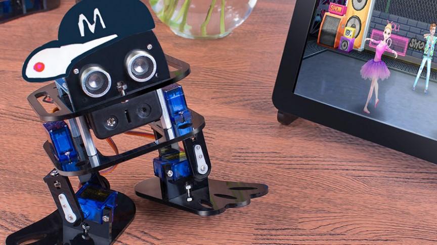 Sloth Learning Kit for Arduino Nano DIY Robot SunFounder DIY 4-DOF Robot Kit
