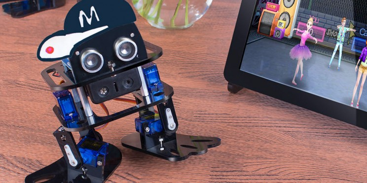 Build Your Own Dancing Robot With This Arduino DIY Kit