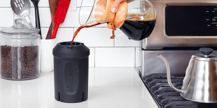 The Hyperchiller Cools Hot Coffee Up To 130º In One Minute